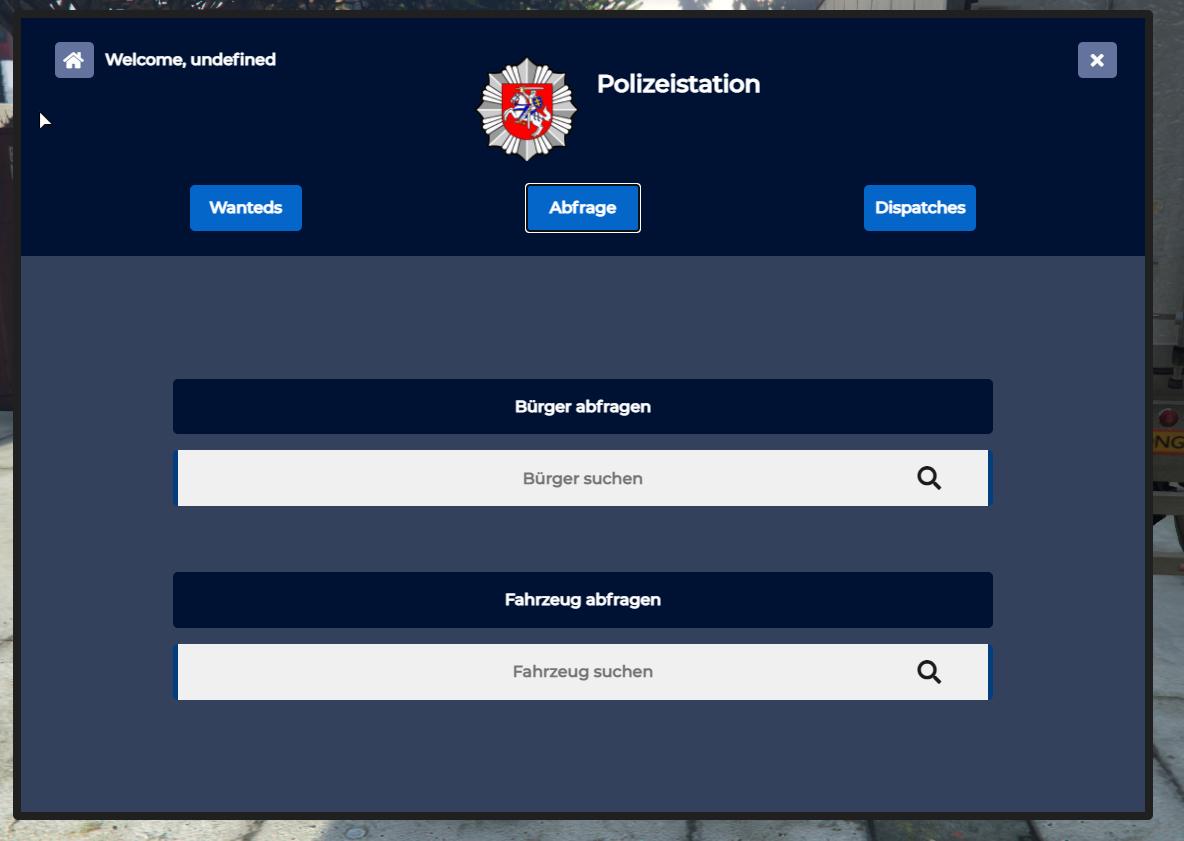 FIVEM-  ESX   POLICE JOB MDT   FREE  -FIVEM